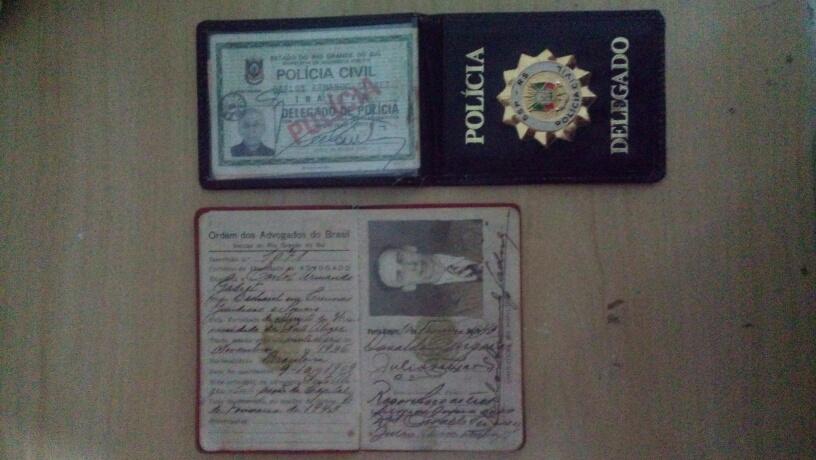 Carteira da OAB e Identificação de Delegado
