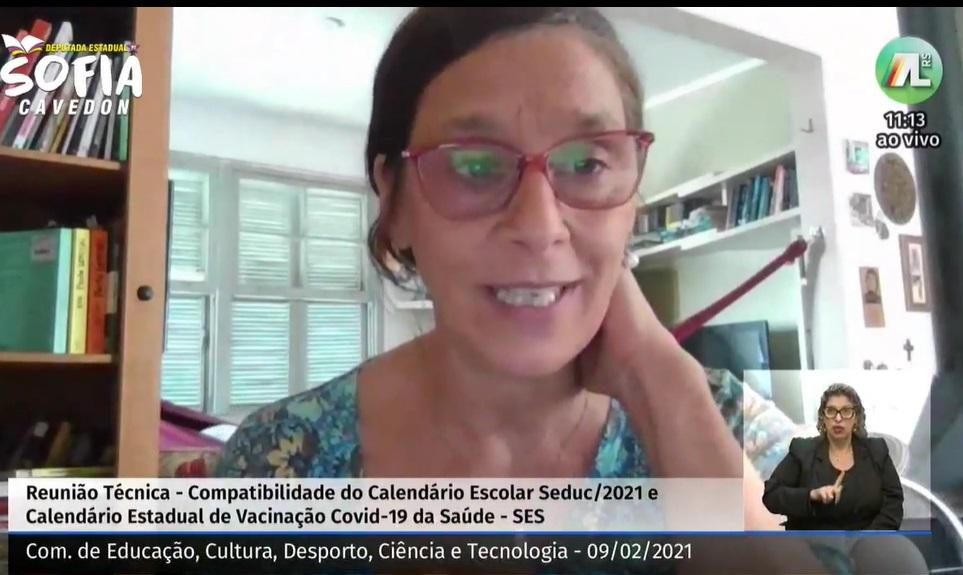 Secretaria de Saúde apresenta até semana que vem um plano de vacinação para a Educação